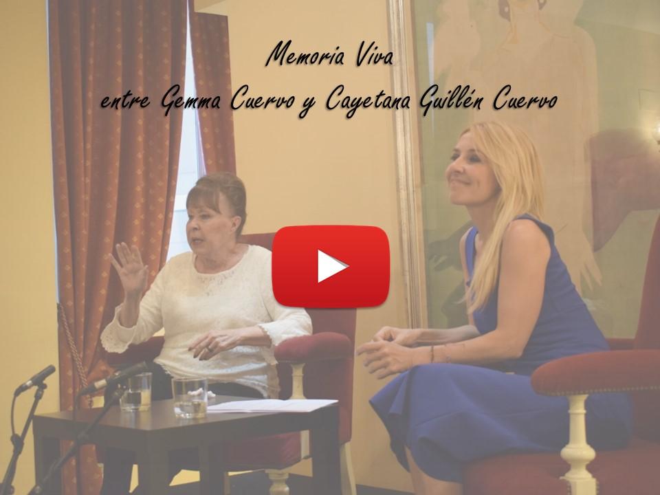 Memoria viva entre Gemma Cuervo y Cayetana Guillén Cuervo
