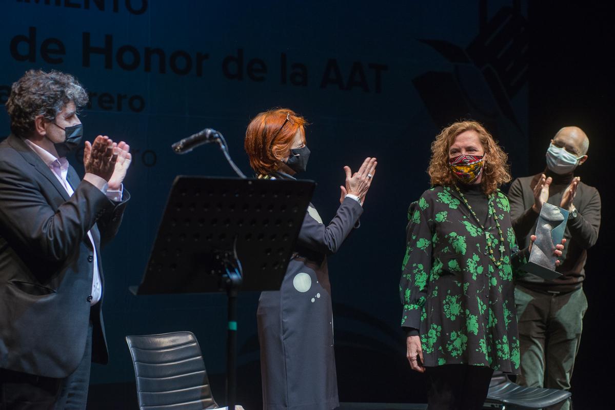 Paloma Pedrero nombrada socia de honor de Autoras y Autores de Teatro