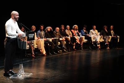 Jaime de Los Santos en la entrega de los Premios de Cultura de la Comunidad de Madrid 2019