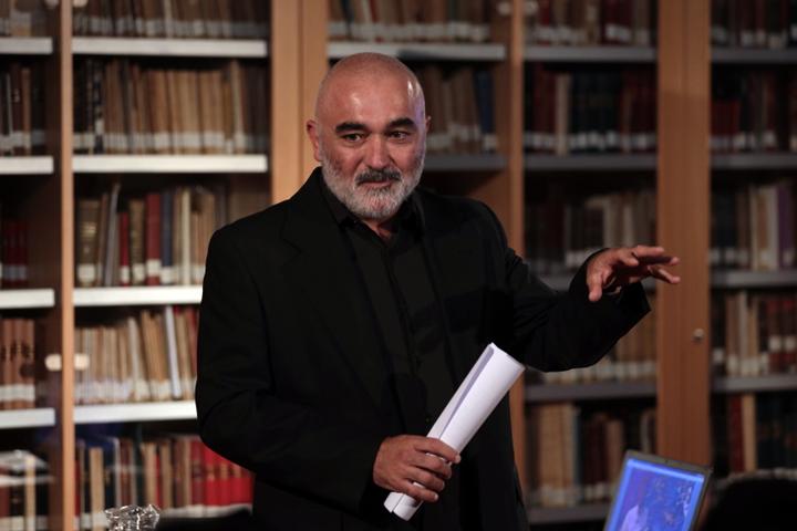 Miguel Palacios en la actividad Charlas de Romero Esteo 2019