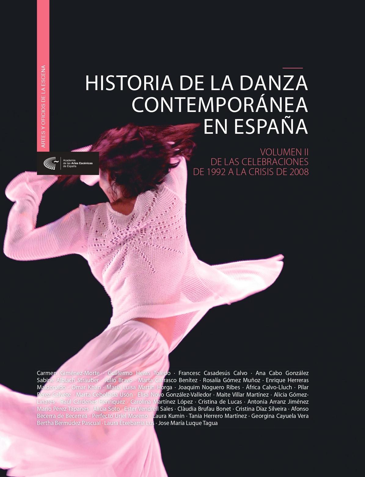 Foto de Historia de la danza contemporánea en España (Vol. II)