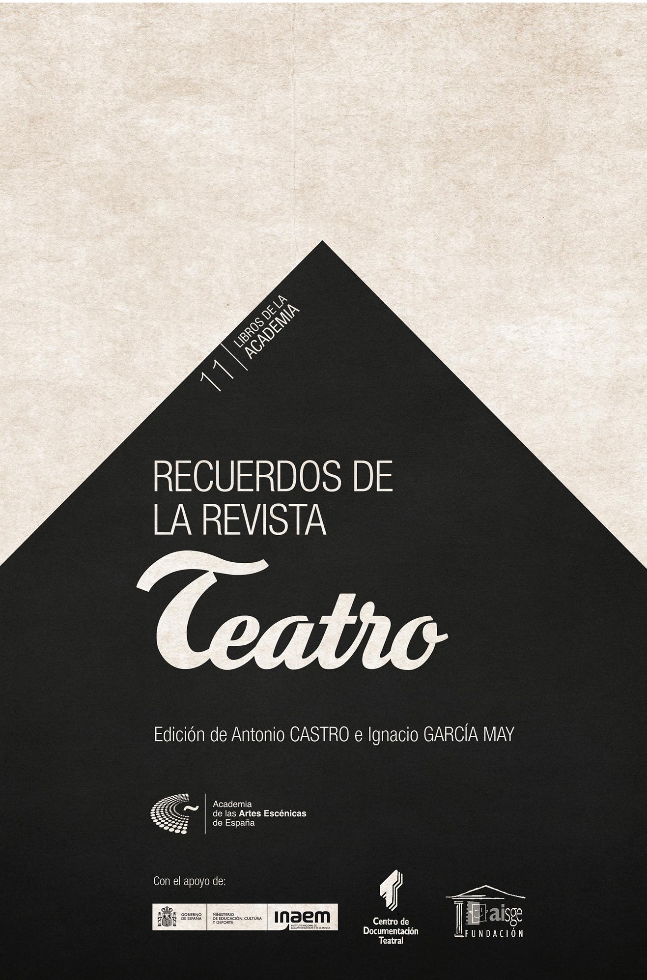 """Foto de Recuerdos de la revista """"Teatro"""""""