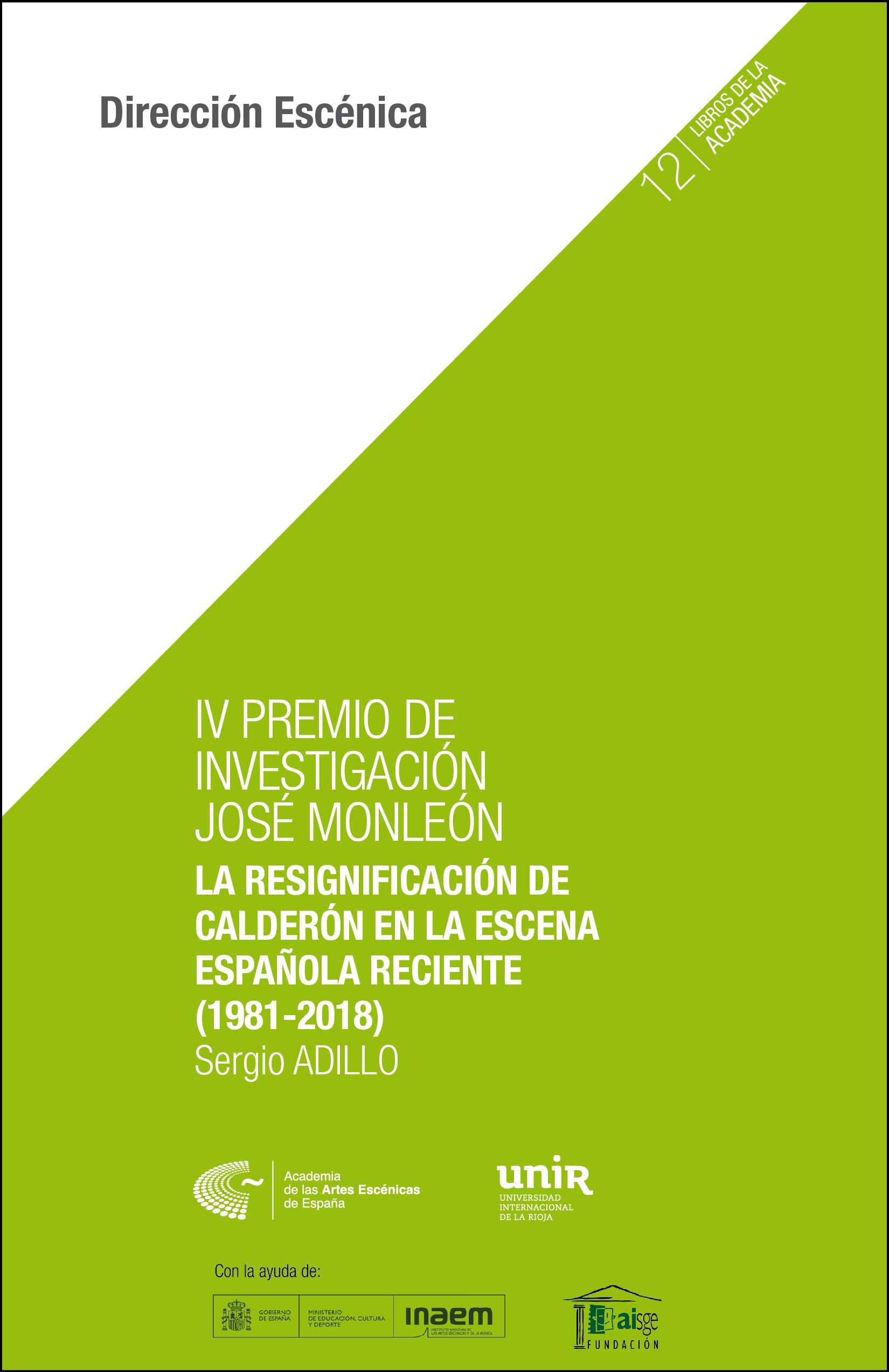 Foto de La resignificación de Calderón en la escena contemporánea reciente (1981-2018)