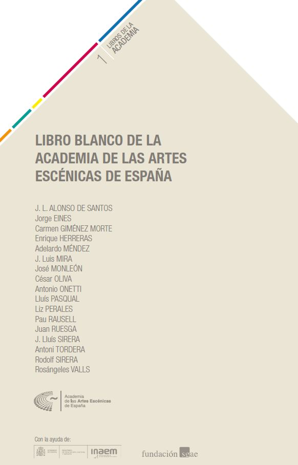 Foto de Libro Blanco de la Academia de las Artes Escénicas de España