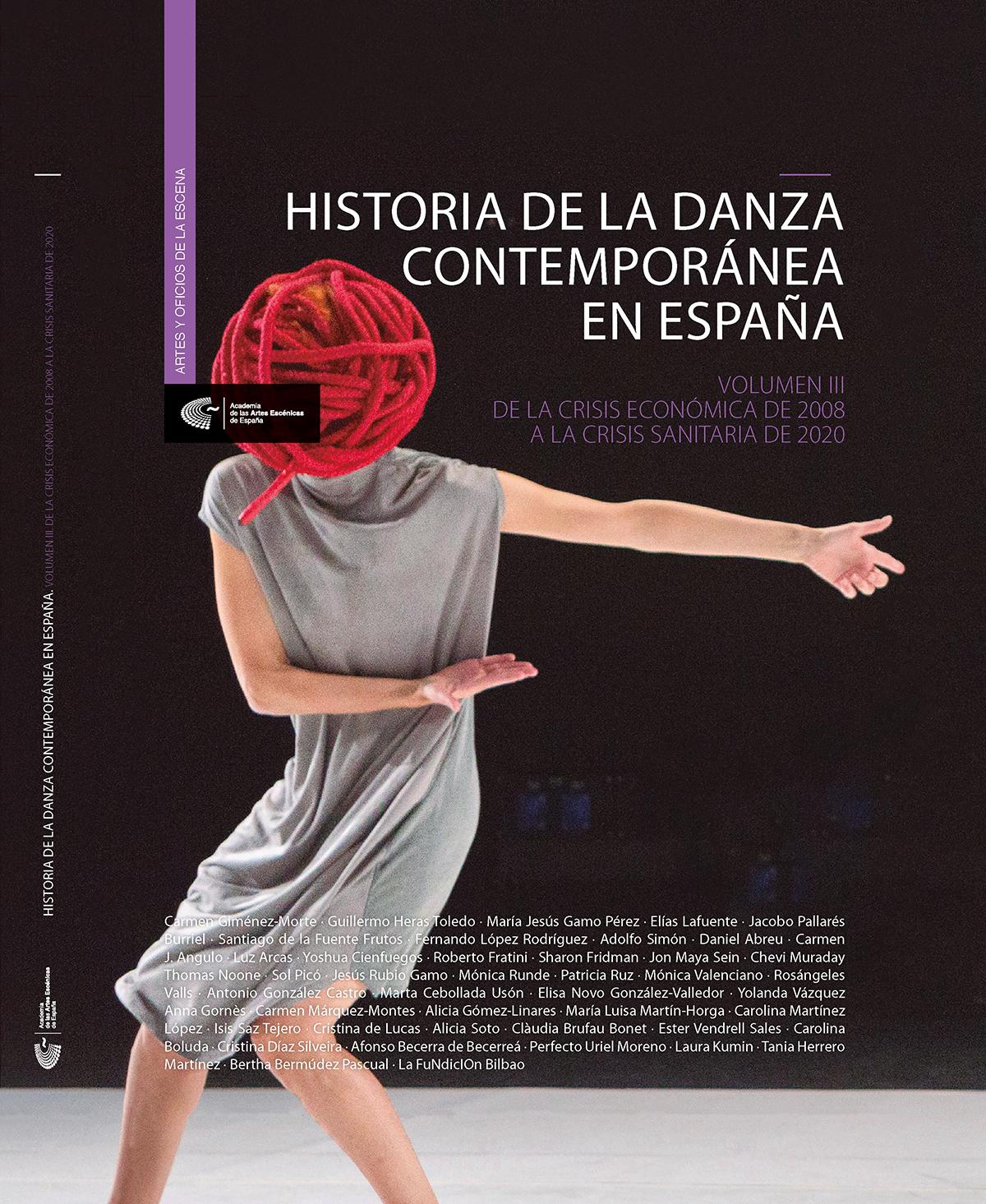 """Resultado de imagen de """"Historia de la danza contemporánea en España (Vol.3)"""""""