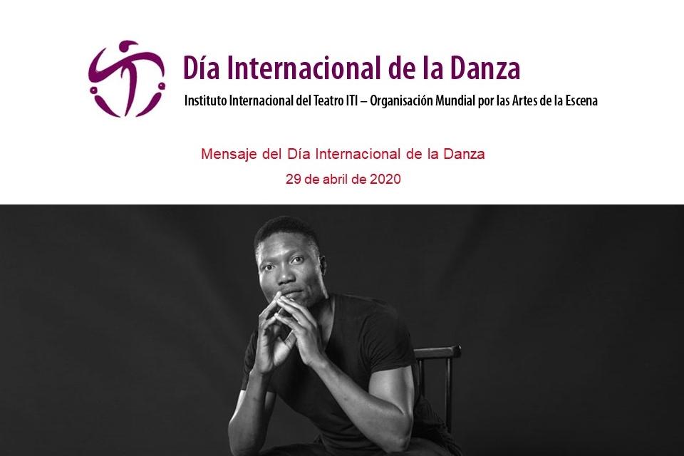Foto de Mensaje para el Día Internacional de la Danza 2020, de Gregory Vuyani Maqoma