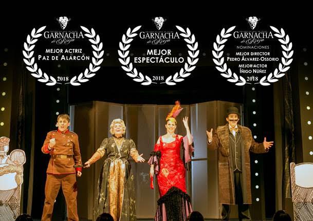 Foto de Fundición Producciones recibe el Premio Gobierno de La Rioja al mejor espectáculo