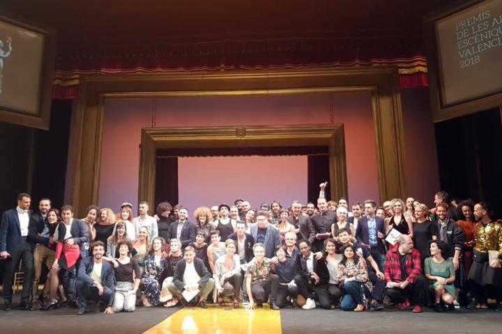 Foto de Manuel Molins recibe el Premio de Honor de las Artes Escénicas de la Generalitat de Valencia