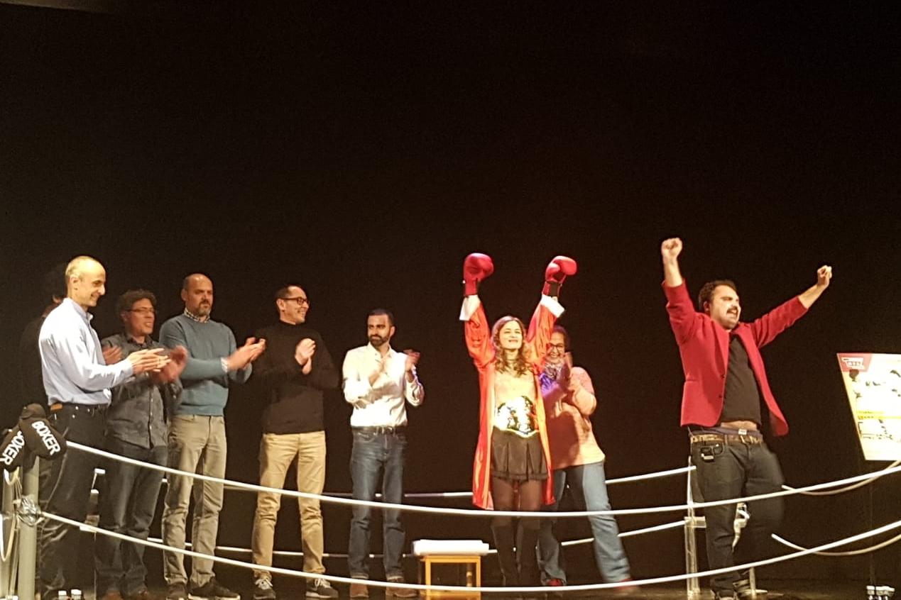 Foto de Aurora Mateos gana el I Torneo de Dramaturgia Andaluza