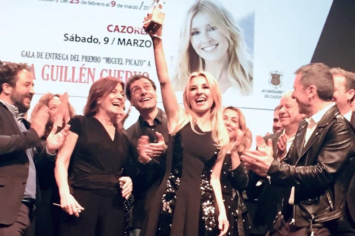 Foto de Cayetana Guillén Cuervo recibe el Premio Miguel Picazo