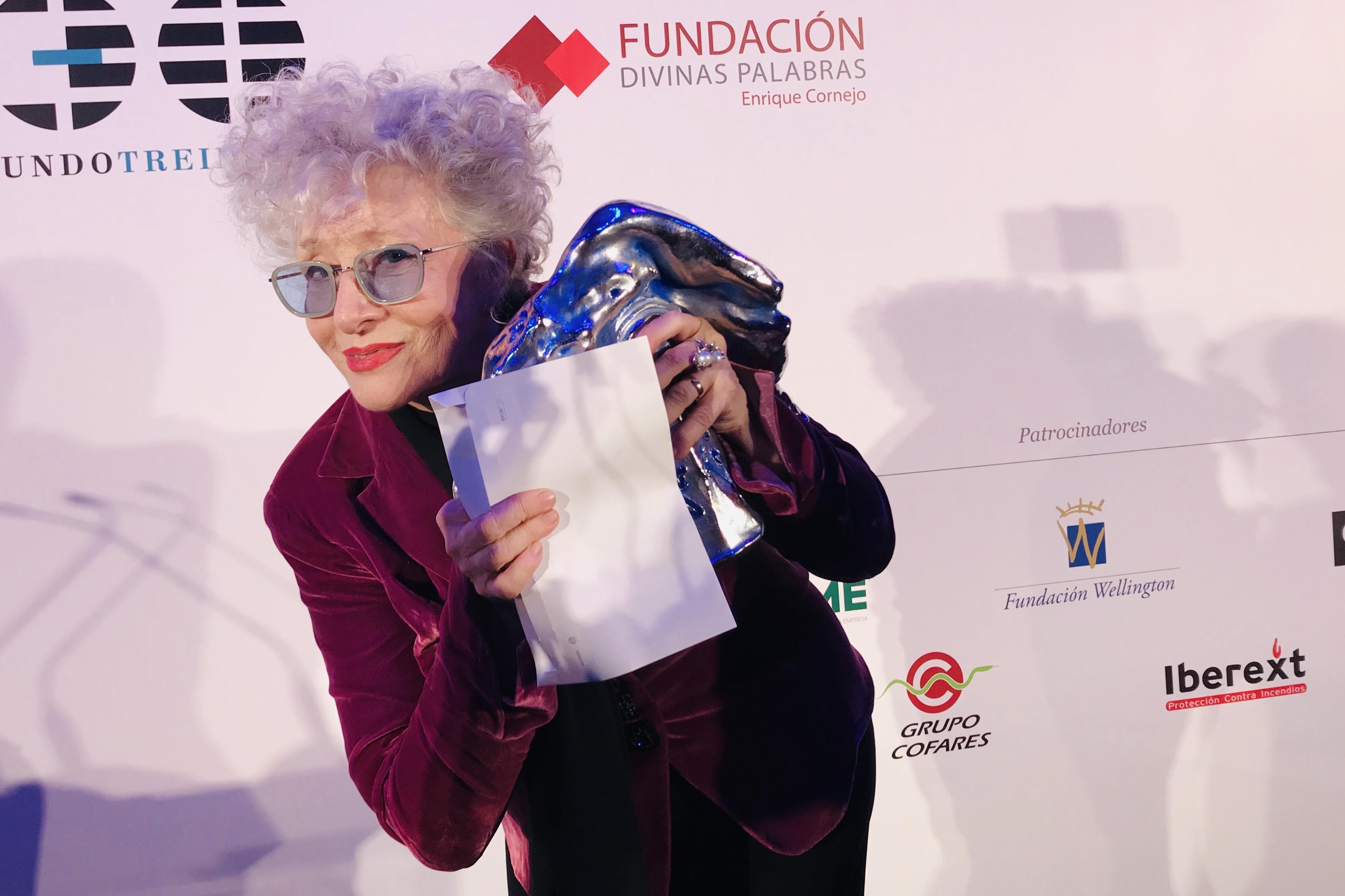 Foto de Magüi Mira Premio Valle-Inclán de Teatro