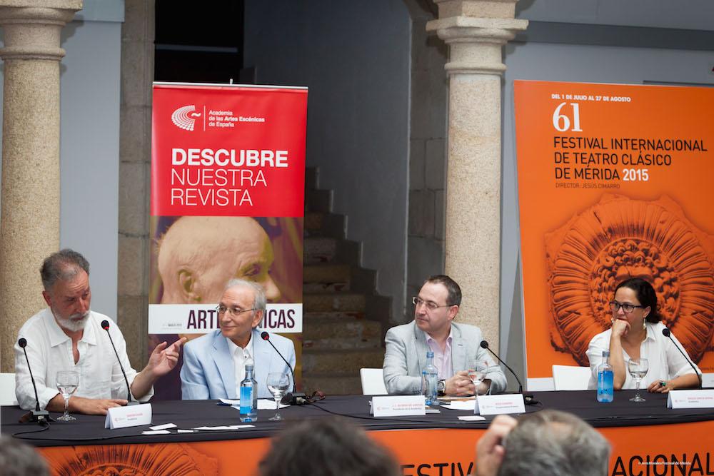 Foto de El Festival de Mérida apadrina la presentación en Extremadura de la Academia de las Artes Escénicas de España