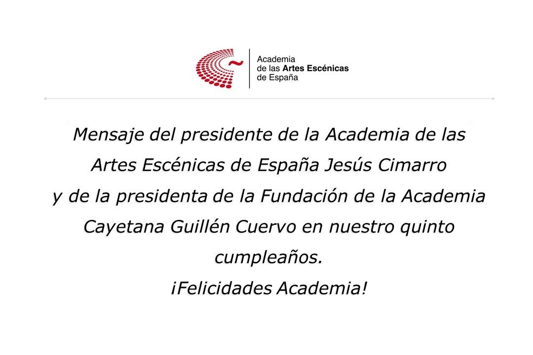 Foto de La Academia cumple 5 años, ¡felicidades!