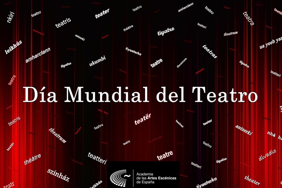 Foto de La Academia de las Artes Escénicas de España conmemora el Día Mundial del Teatro