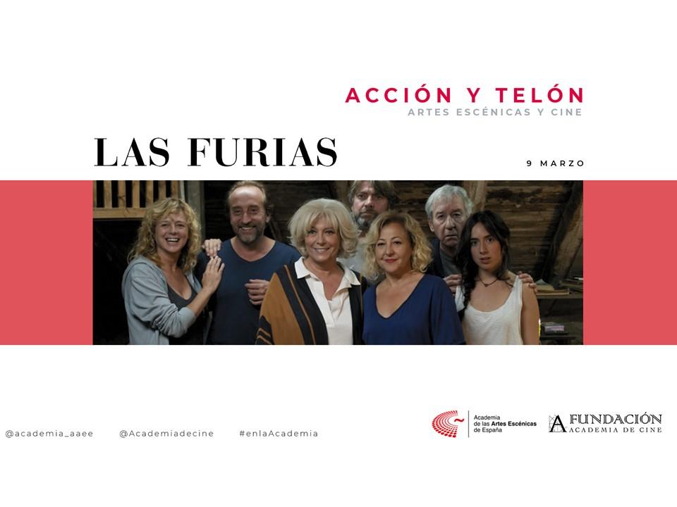 """Foto de Acción y Telón I: Proyección de la película """"Las furias"""""""