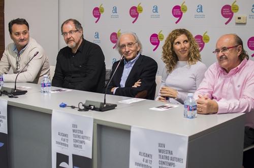 Foto de La Academia en la Muestra de Teatro Español de Autores Contemporáneos
