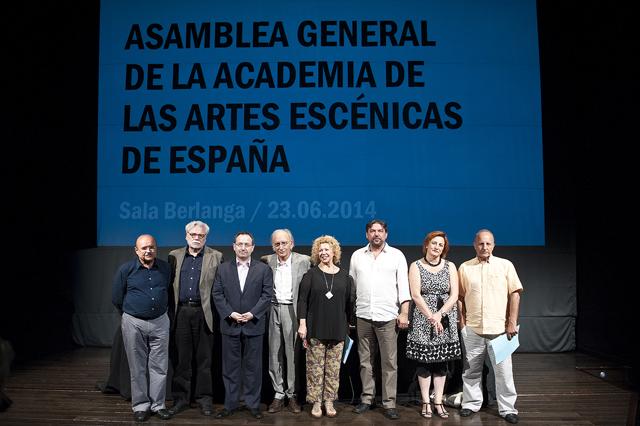 Foto de La Academia de las Artes Escénicas de España proclama su primera junta directiva