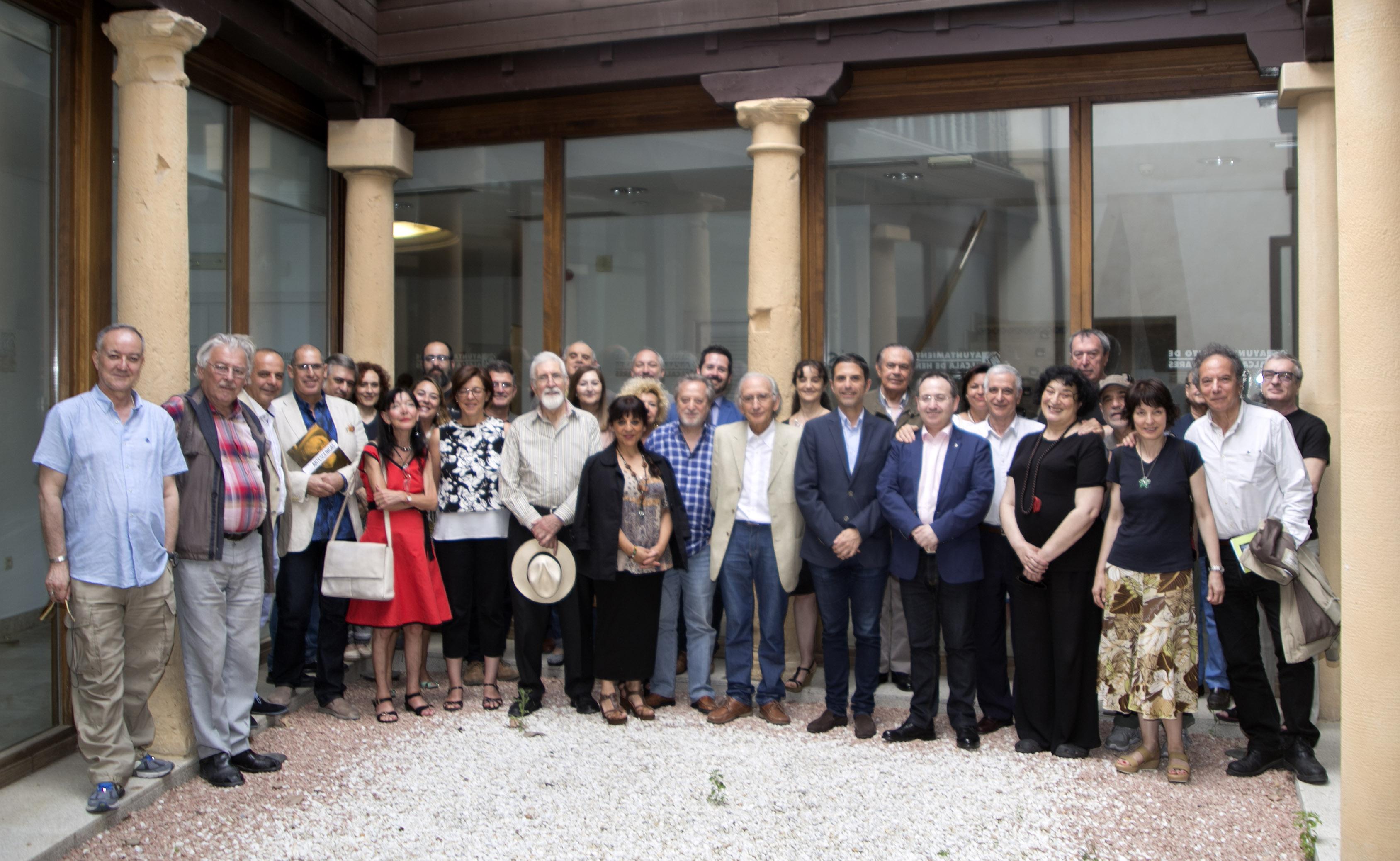Foto de La Academia celebra su Asamblea General en Alcalá de Henares invitada por el Festival Clásicos en Alcalá