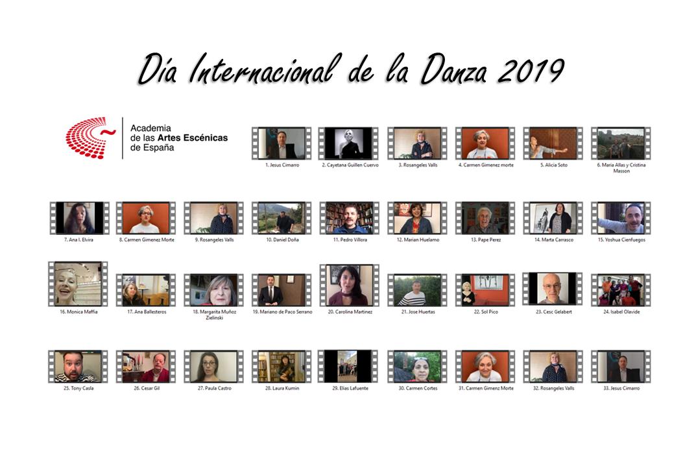 Foto de La Academia conmemora el Día Internacional de la Danza 2019