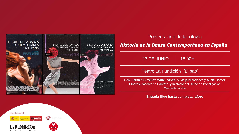 """Foto de Presentación en Bilbao de la trilogía 'Historia de la Danza Contemporánea en España"""""""