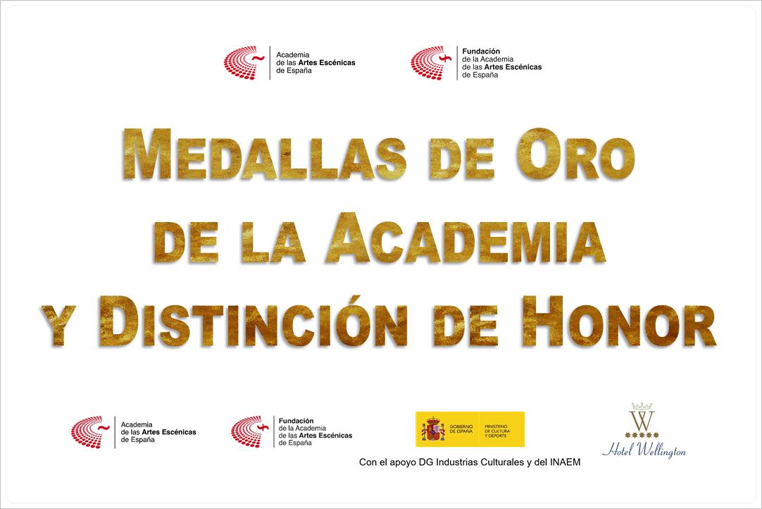 Foto de Medallas de Oro de la Academia y Distinción de Honor