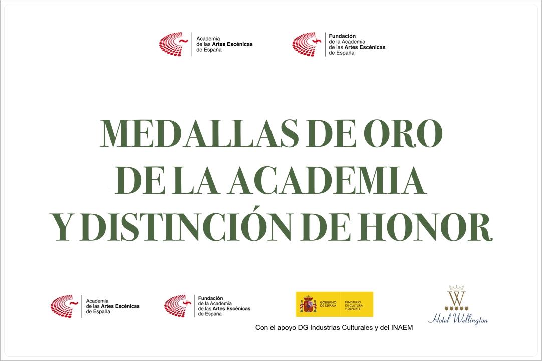 Foto de La Academia De Las Artes Escénicas de España entrega sus Medallas y Distinciones de Honor