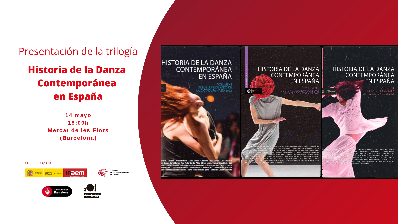 """Foto de Presentación en Barcelona de la trilogía 'Historia de la Danza Contemporánea en España"""""""