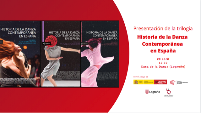 """Foto de Presentación en Logroño de la trilogía 'Historia de la Danza Contemporánea en España"""""""