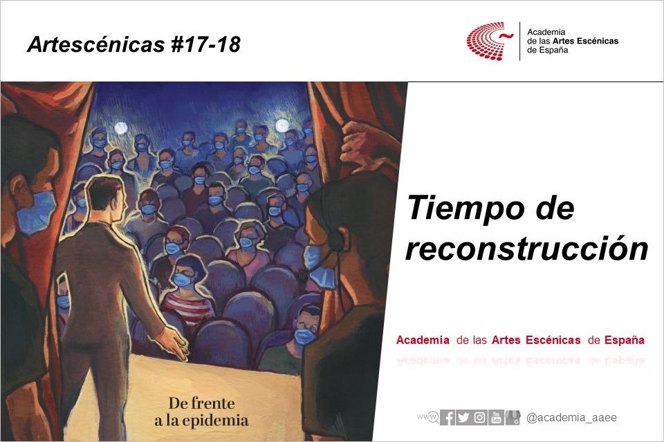Foto de Tiempo de reconstrucción, en la revista de la Academia