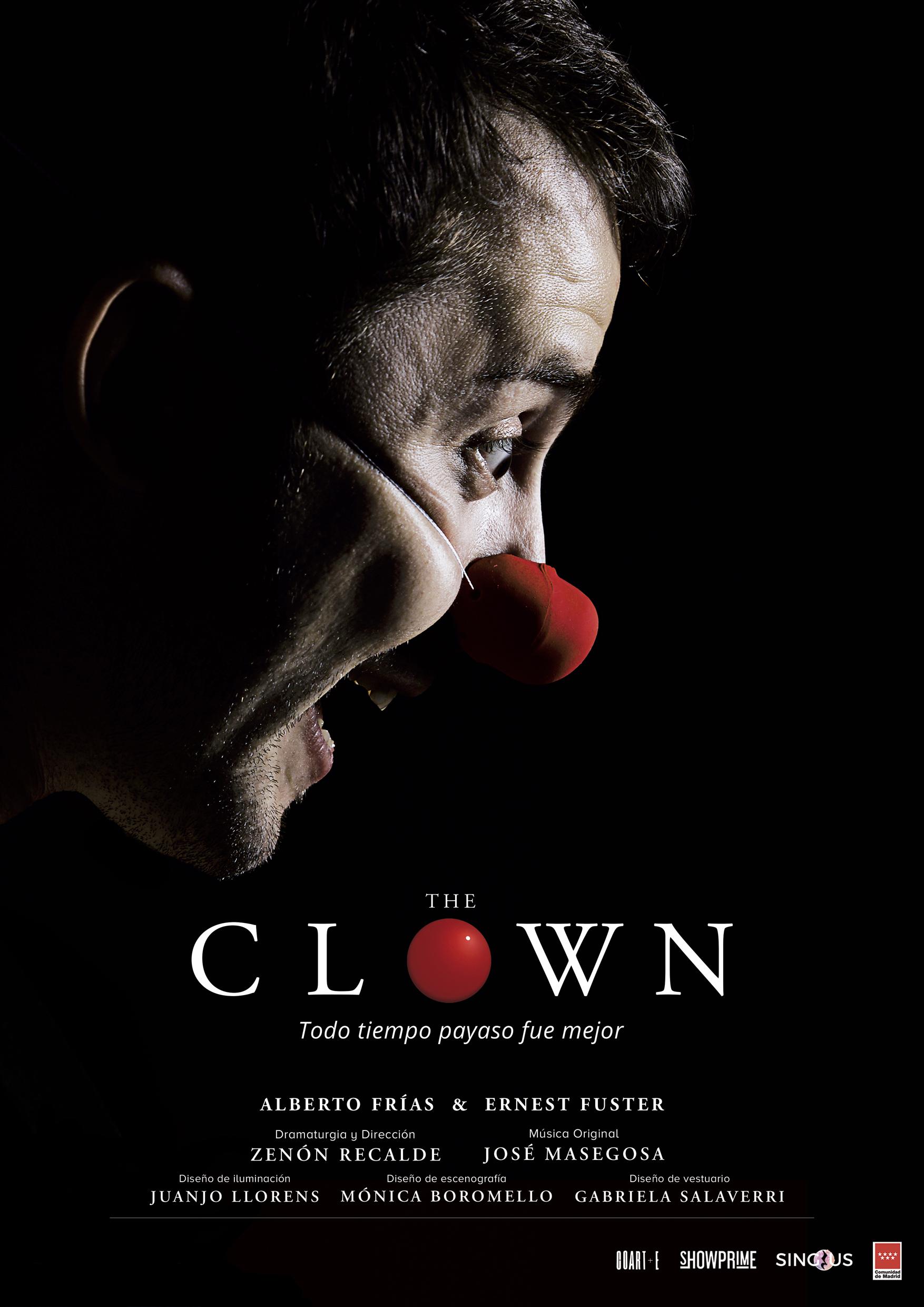 """Foto de Estreno de """"The Clown"""", protagonizado por el académico Alberto Frías y Ernest Fuster"""