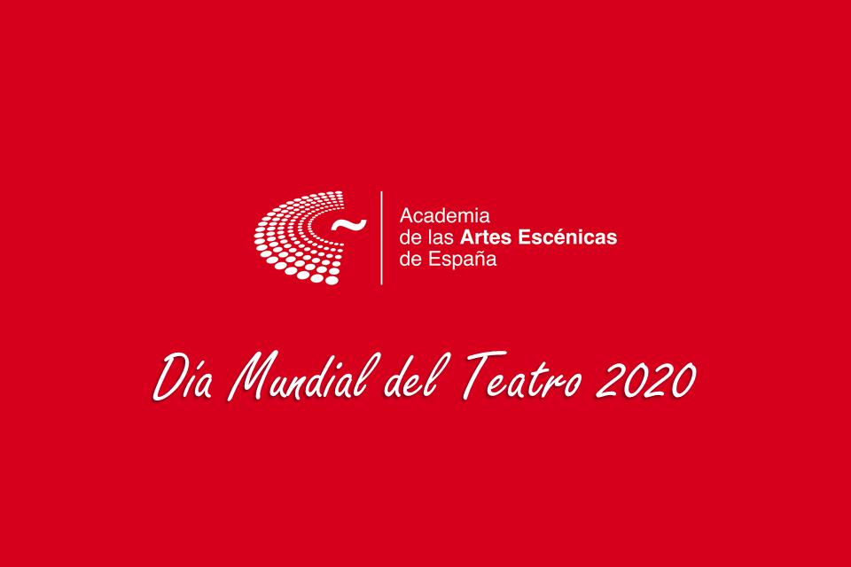 Foto de La Academia conmemora el Día Mundial del Teatro 2020