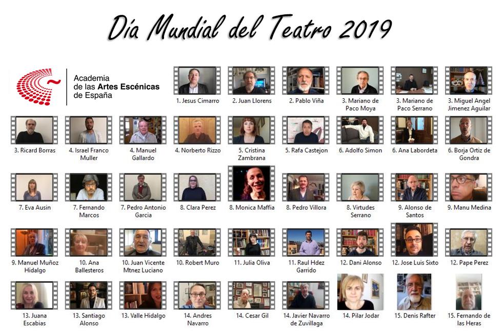 Foto de La Academia conmemora el Día Mundial del Teatro 2019