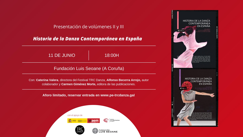 """Foto de Presentación en A Coruña de los volúmenes II y II de la trilogía 'Historia de la Danza Contemporánea en España"""""""