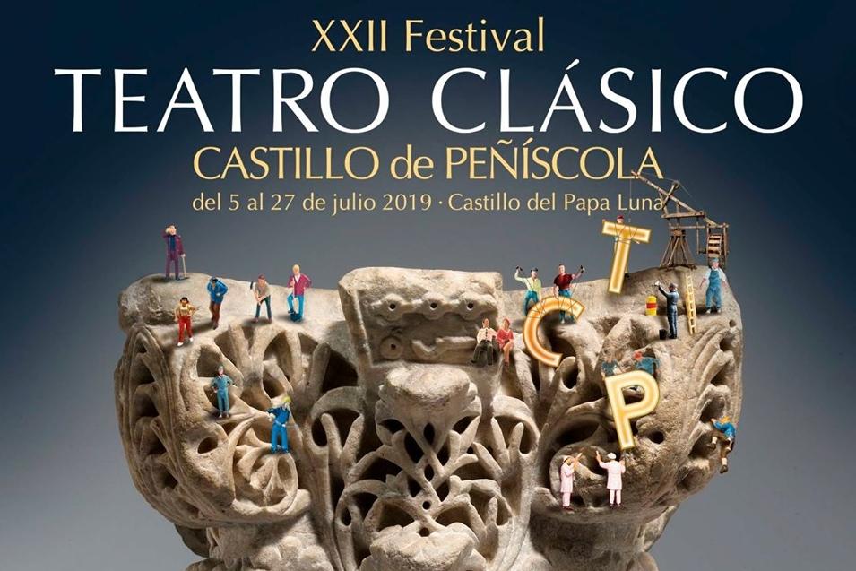 Foto de Presentación de la Academia en el Festival de Teatro Clásico de Peñíscola