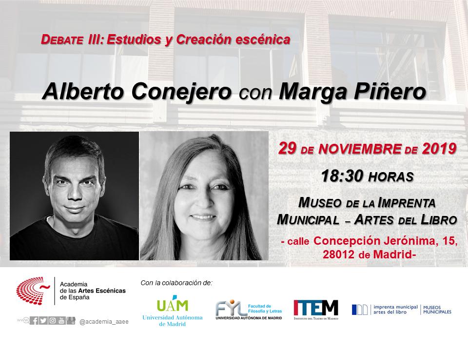 Foto de Debate entre MARGA PIÑEROy ALBERTO CONEJERO