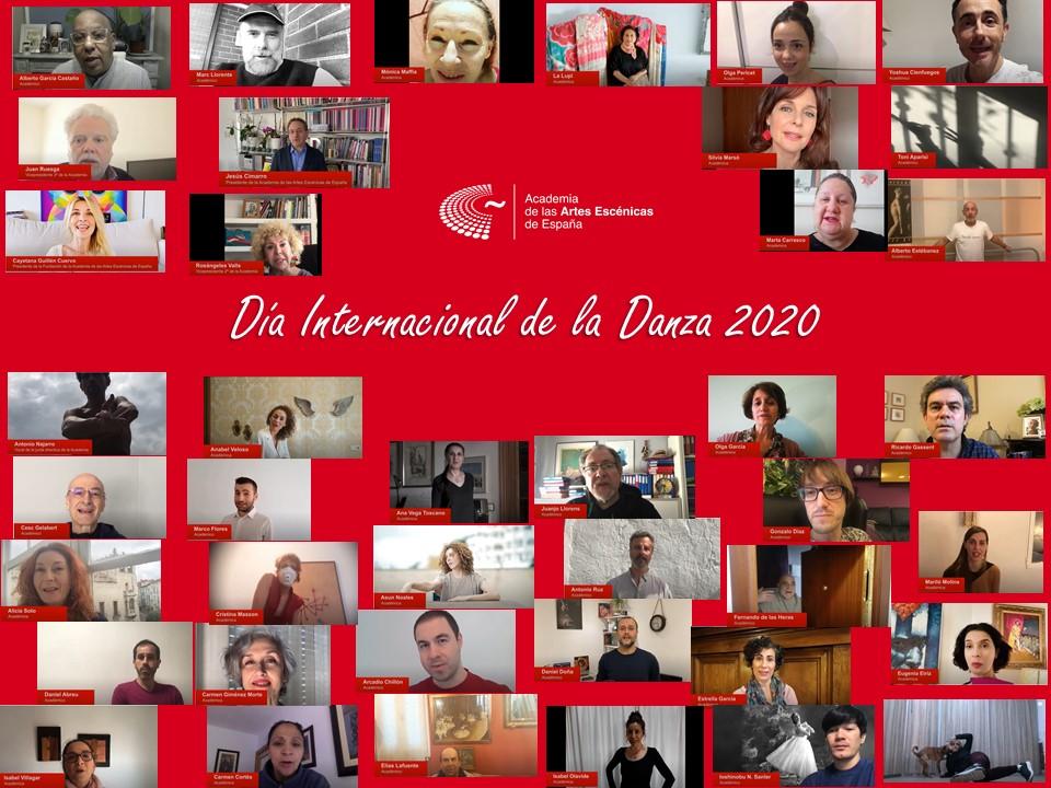Foto de La Academia conmemora el Día Internacional de la Danza 2020