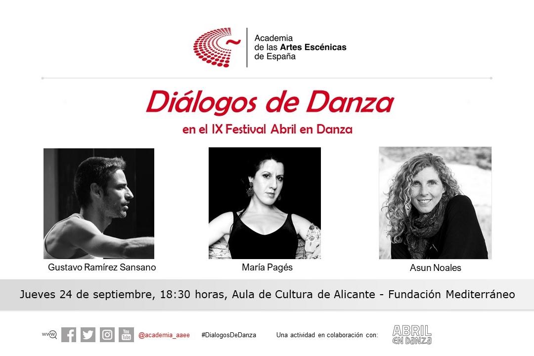 Foto de Diálogos de Danza en el Festival Abril en Danza en Alicante
