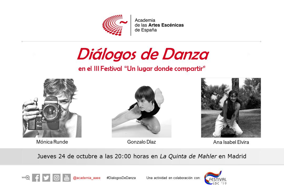 """Foto de Diálogos de Danza en el Festival """"Un lugar donde compartir"""""""