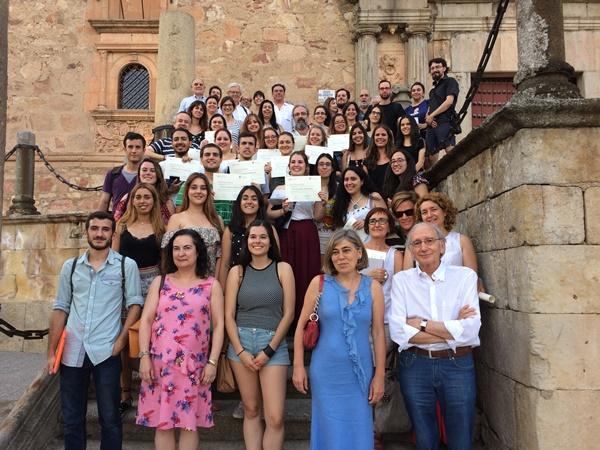 Foto de Clausurada con éxito la 1ª edición de la Escuela de Verano de la Academia en la Universidad de Salamanca
