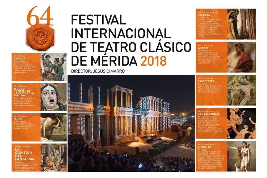 Foto de Numerosos académicos presentes en la programación del Festival Internacional de Teatro Clásico de Mérida