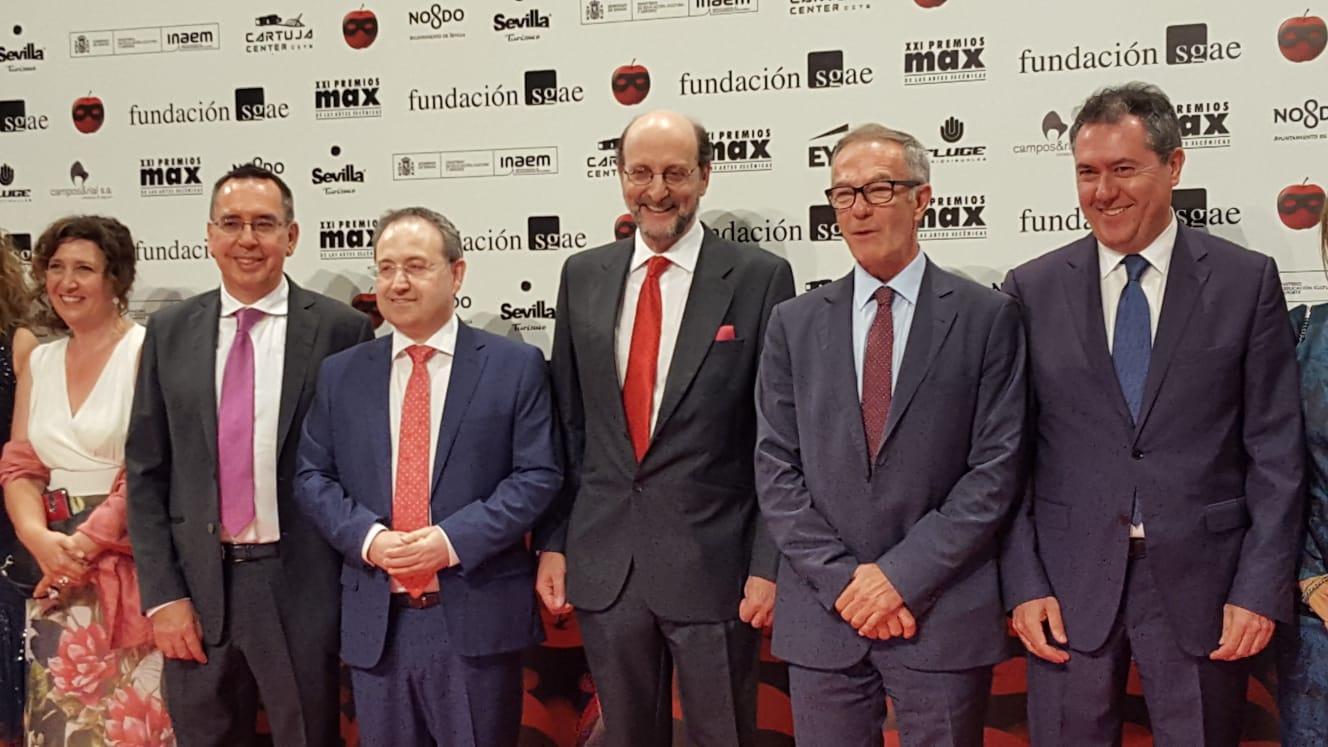 Foto de Académicos ganadores de los XXI Premios Max