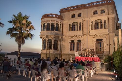 Foto de La Academia en el I Festival de Teatro Clásico de Fuenteovejuna.