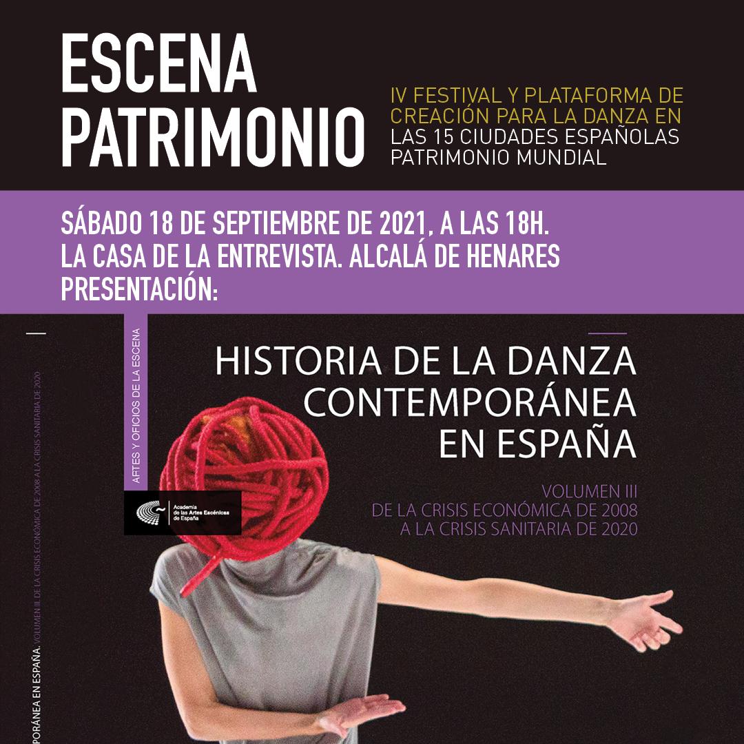 """Foto de Presentación del III volumen de """"Historia de la Danza Contemporánea en España"""" en Alcalá de Henares"""