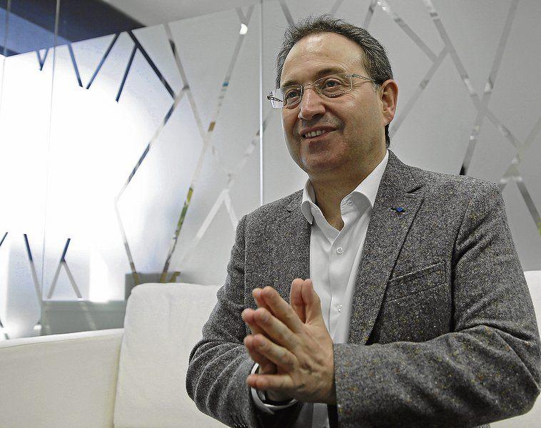 Foto de El académico Jesús Cimarro premio 'Estrella de Oro'