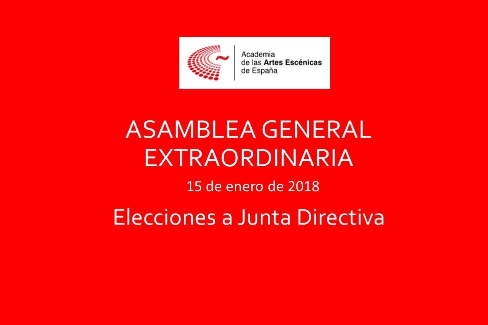 Foto de Elecciones a Junta Directiva de la Academia de las Artes Escénicas de España