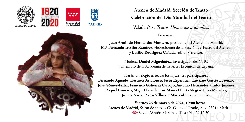 Foto de Presentación de ''Puro Teatro. Homenaje a un oficio''
