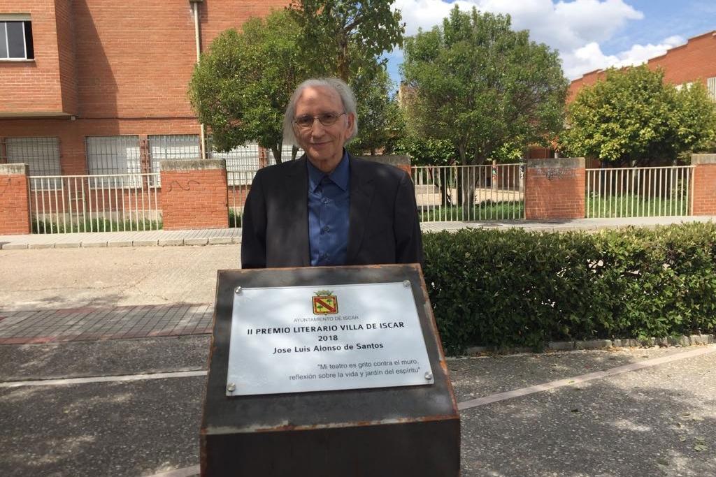 Foto de José Luis Alonso de Santos recibe el II Premio Literario Villa de Íscar