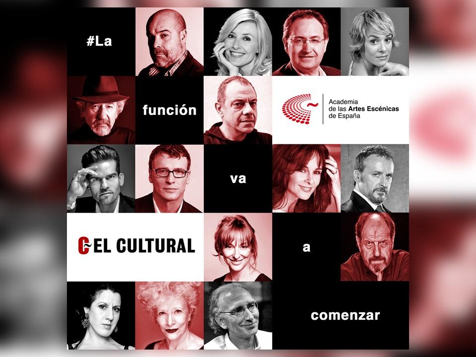 Foto de  Campaña #LaFuncionVaAComenzar de la Academia en El Cultural