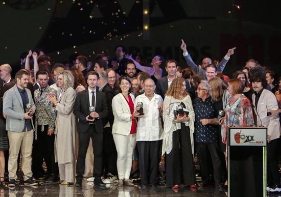 Foto de Seis académicos galardonados en la XX Edición de los Premios Max de las Artes Escénicas