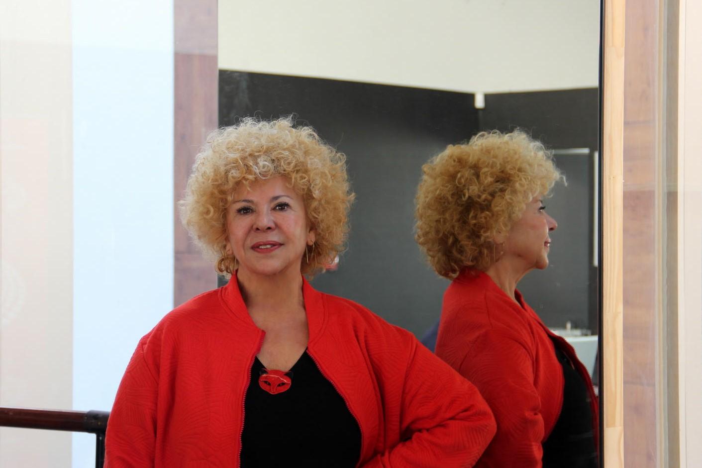 Foto de Rosángeles Valls, Medalla de Oro al Mérito en las Bellas Artes 2018